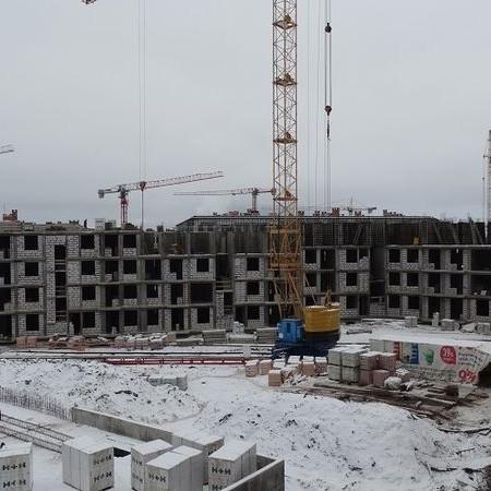 ЖК Экспоград ход строительства